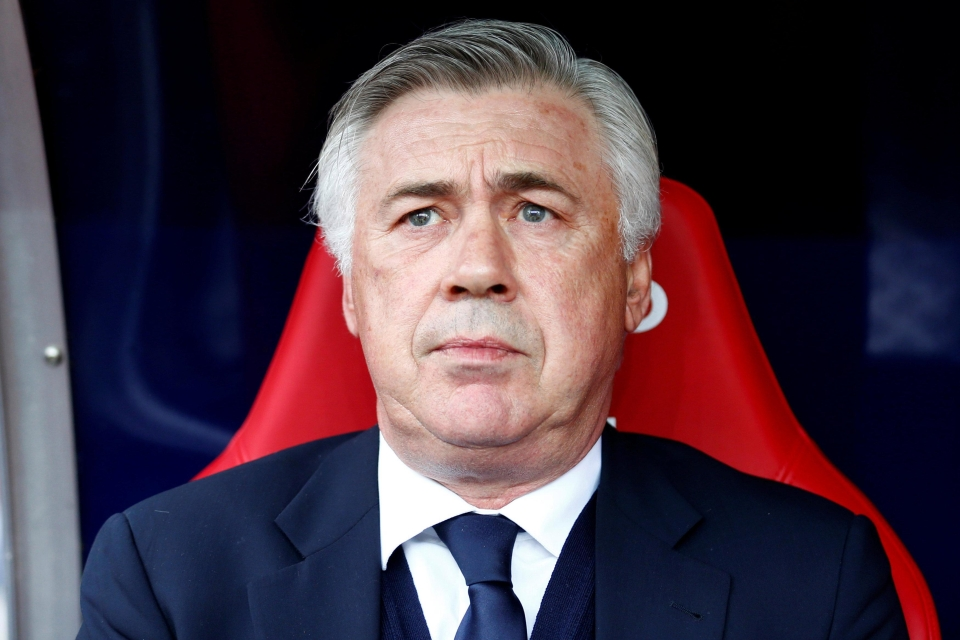 Carlo Ancelotti has proven credentials and is available