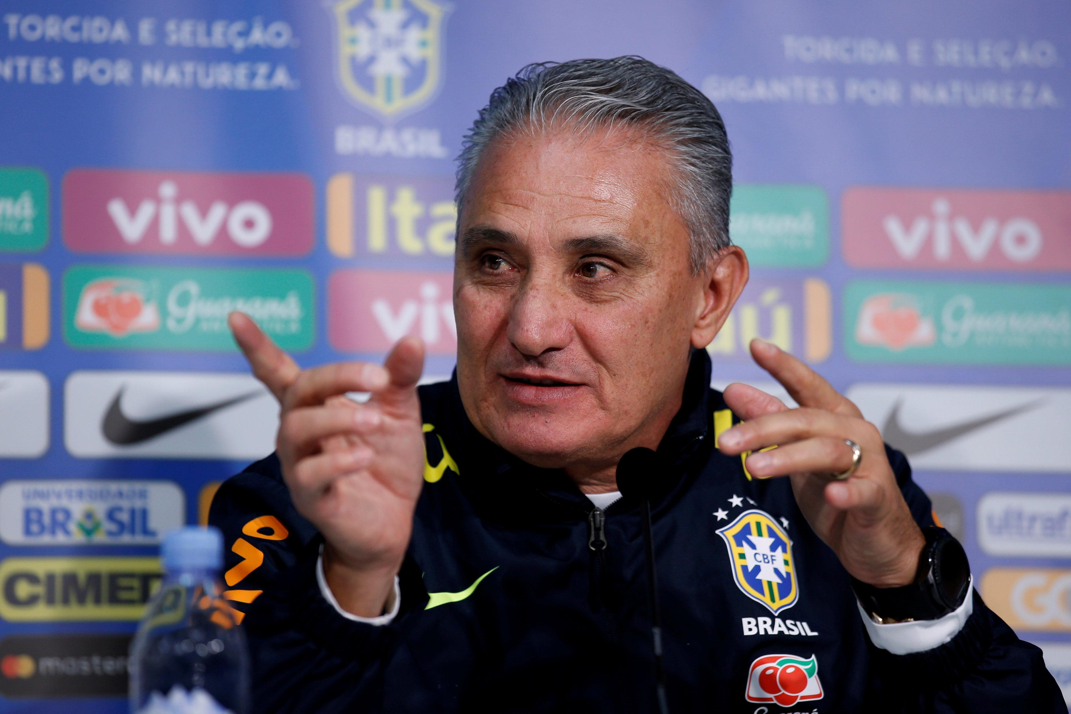 Tite has plenty of talent at his disposal