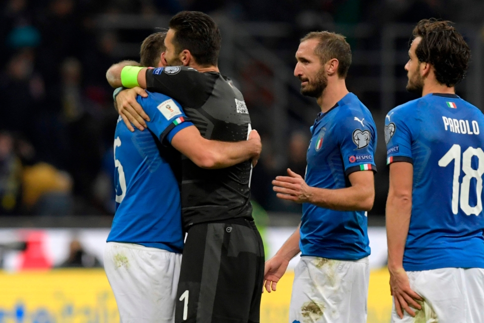 Chiellini and Buffon both announced their retirement from international football after their failure to reach the World Cup