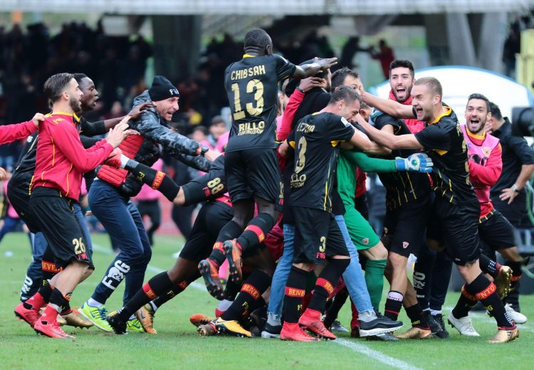 Absolute scenes after Benevento's late equaliser