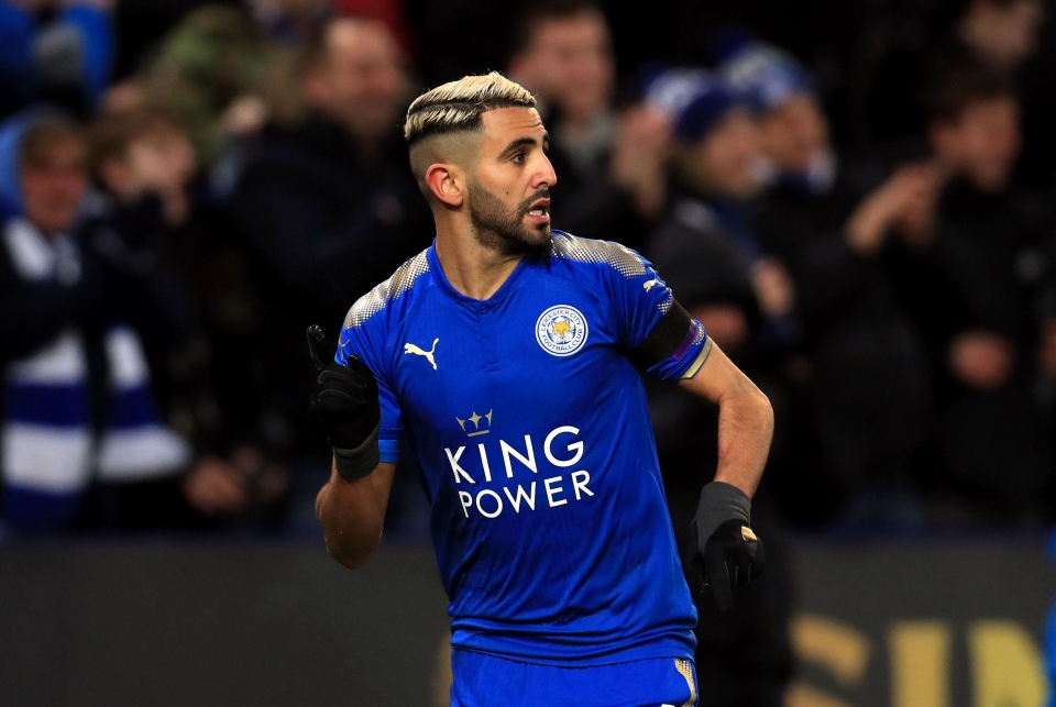 Mahrez has been Leicester's standout player this season