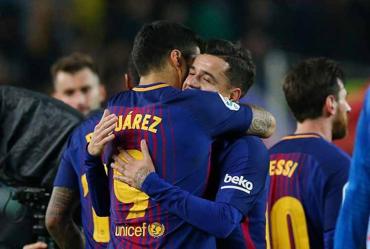 Coutinho really just wanted to be reunited with his best friend