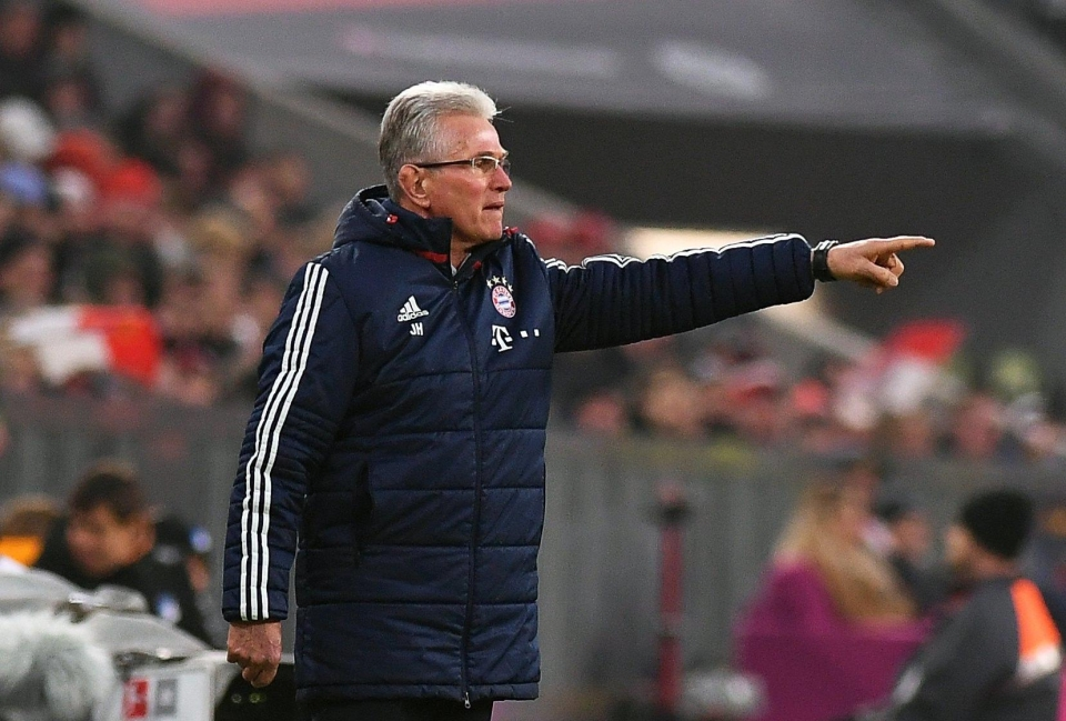 Heynckes has enjoyed a successful return to Bayern after the German club sacked Carlos Ancelotti in September