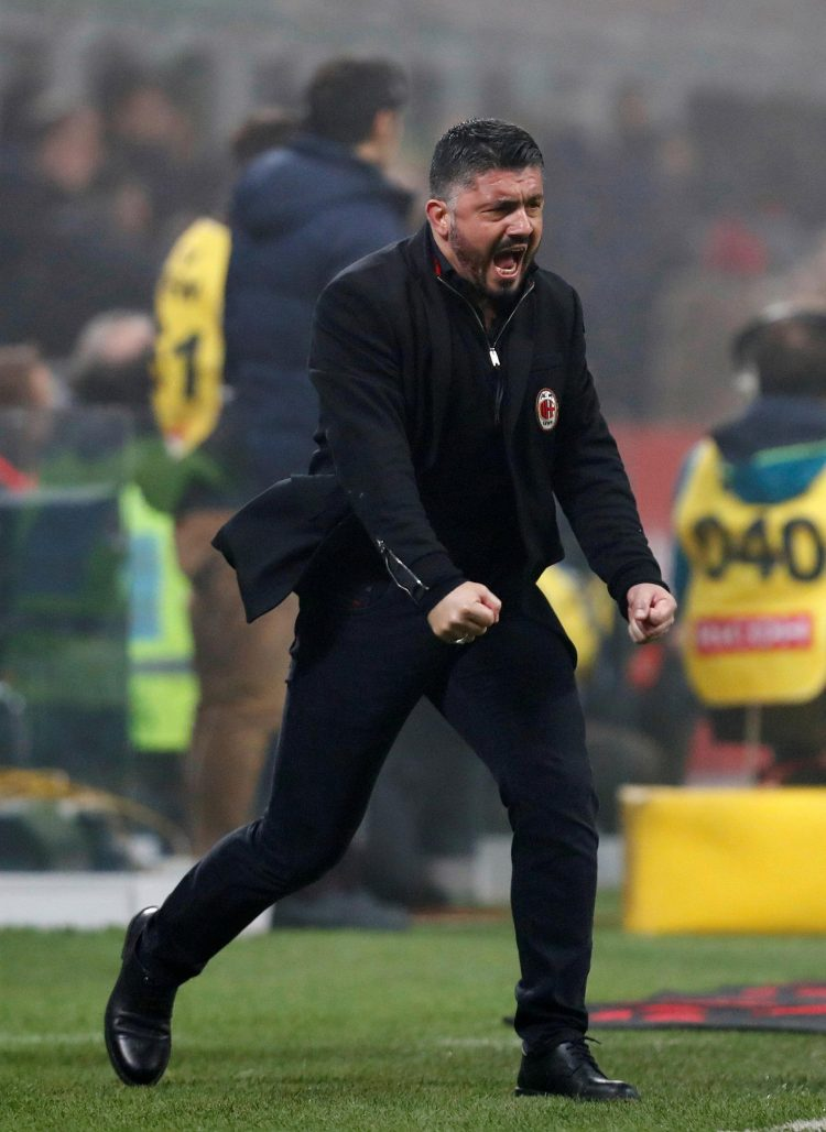 No one can say Gattuso is not passionate