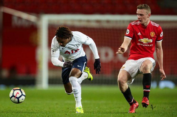 The new Darren Fletcher in action