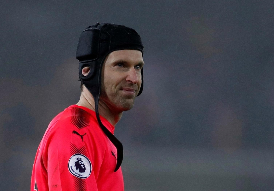 Cech has worn a skull cap for over a decade