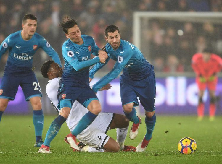 Mkhitaryan didn't really enjoy his first game for Arsenal