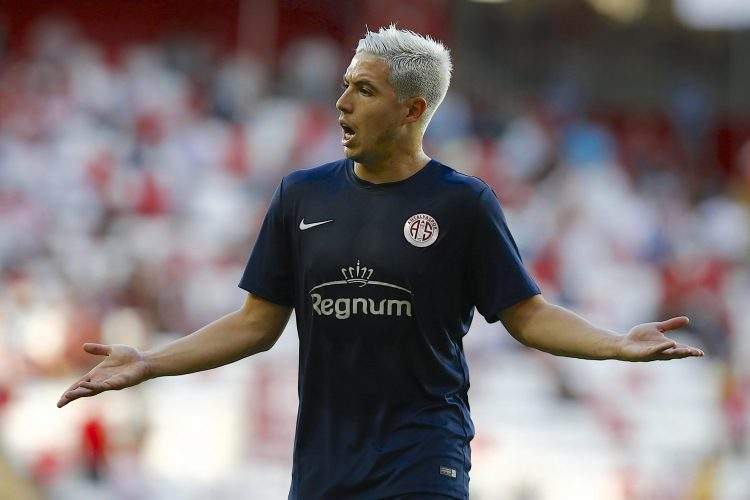 We had to double take but we can confirm that is Nasri