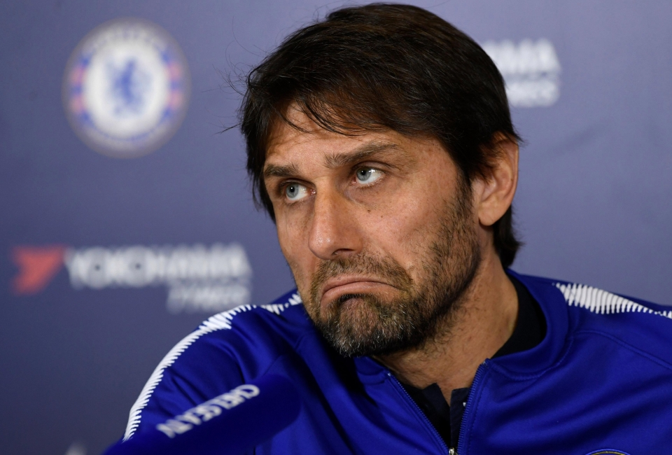 Antonio Conte has reportedly lost the dressing room