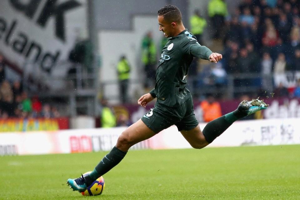 Danilo scored a beauty at Burnley