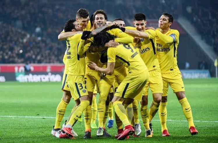 Neymar getting hugged by a load of farmers