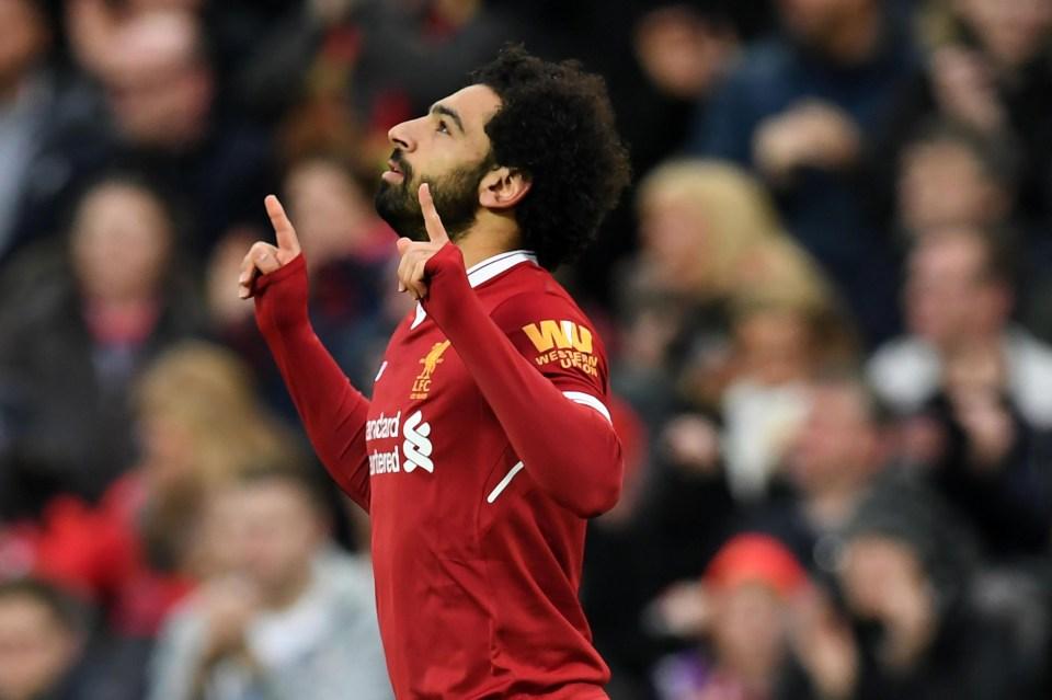 Mohamed Salah has been utterly unstoppable for Liverpool this season