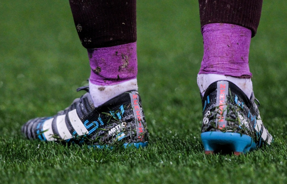 Messi's wheels for the waterlogged draw with Espanyol at the weekend