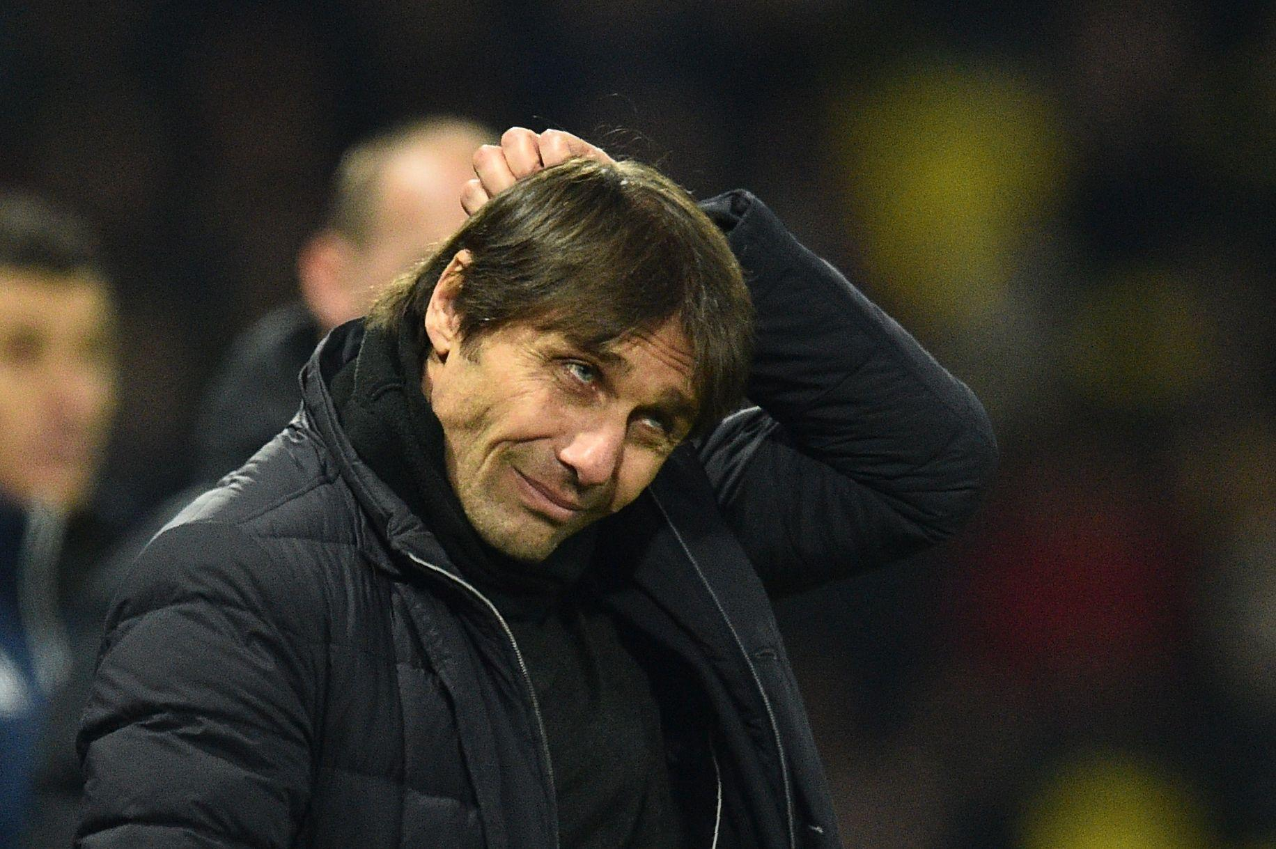 Conte could be out of a job very soon
