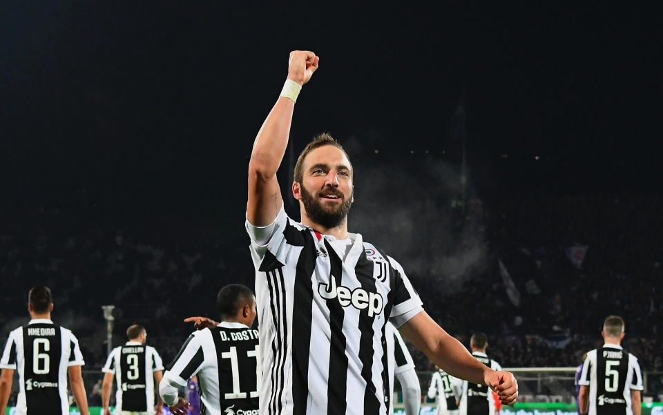 Higuain wrapped up the points late on