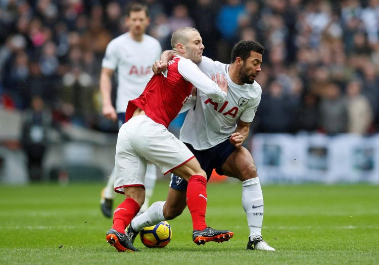 It's never a fair fight when Dembele is involved