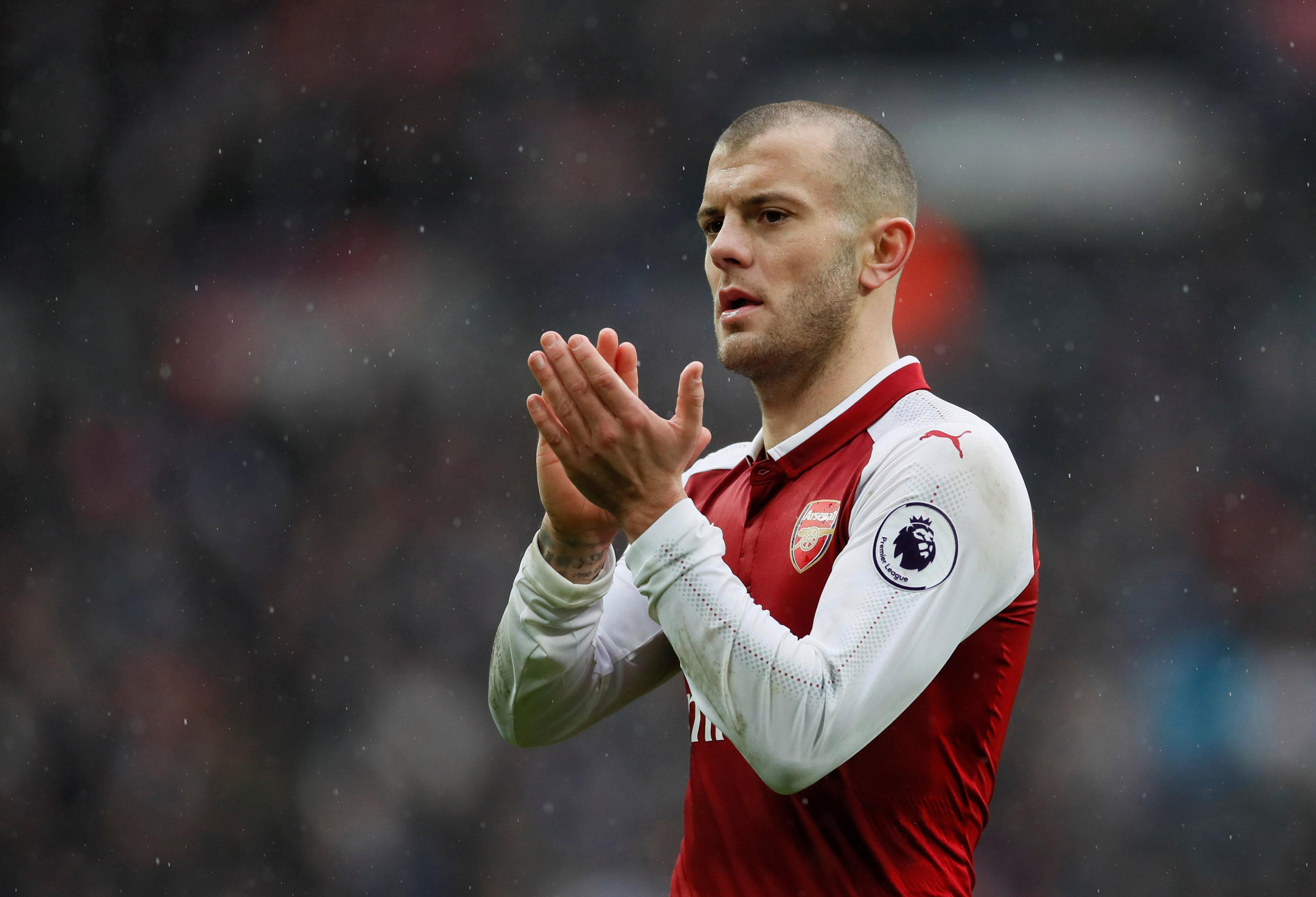 Jack Wilshere is on Juventus' radar with his future still up in the air