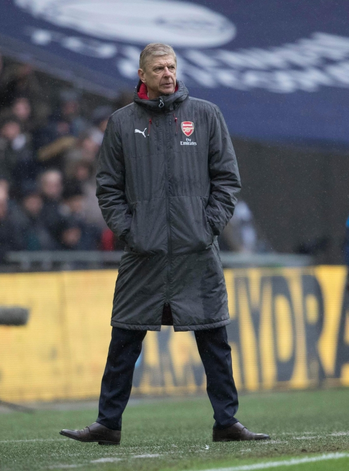 Better pack your thermal underwear, Arsene