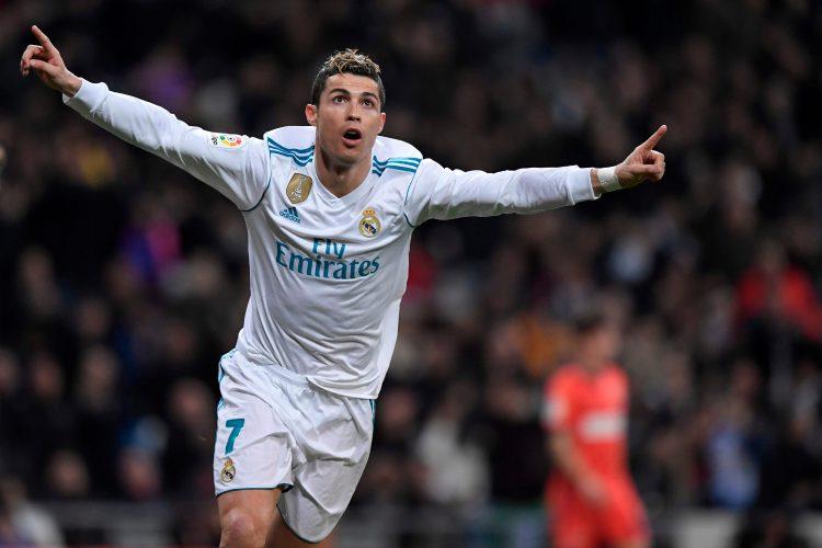 Goals this weekend: Ronaldo 3, Messi 0