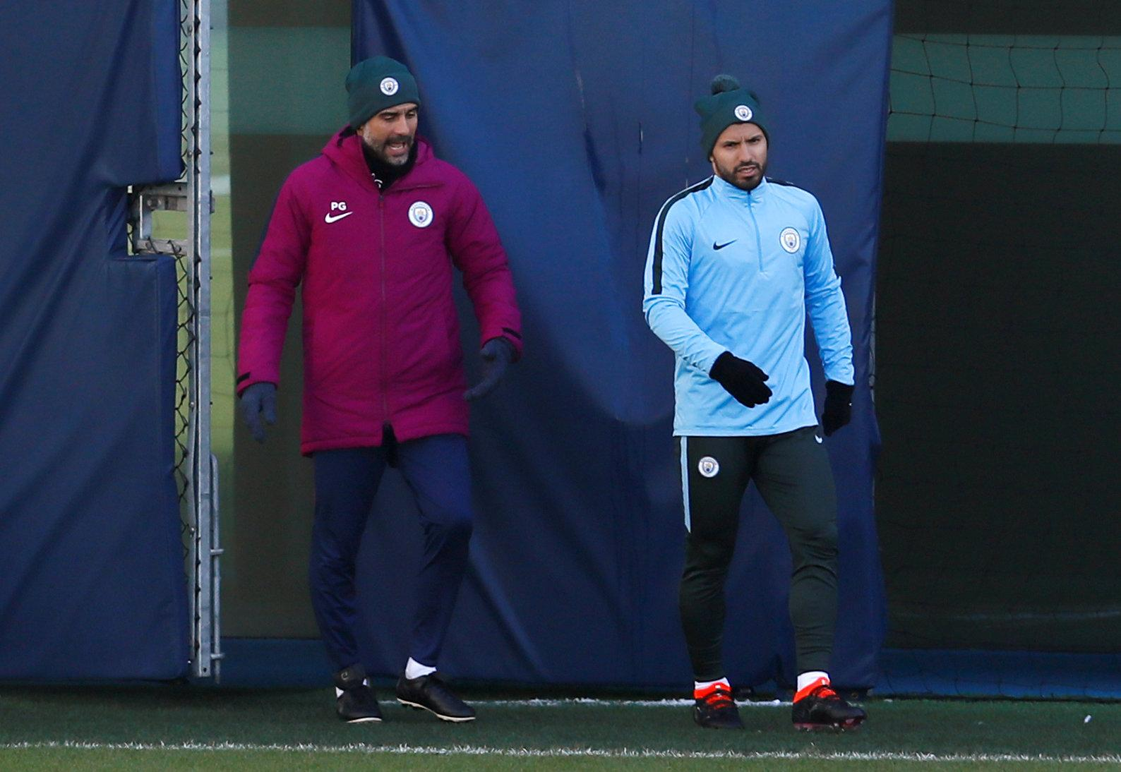 Of course Pep thinks Aguero's fantastic but that may not be enough