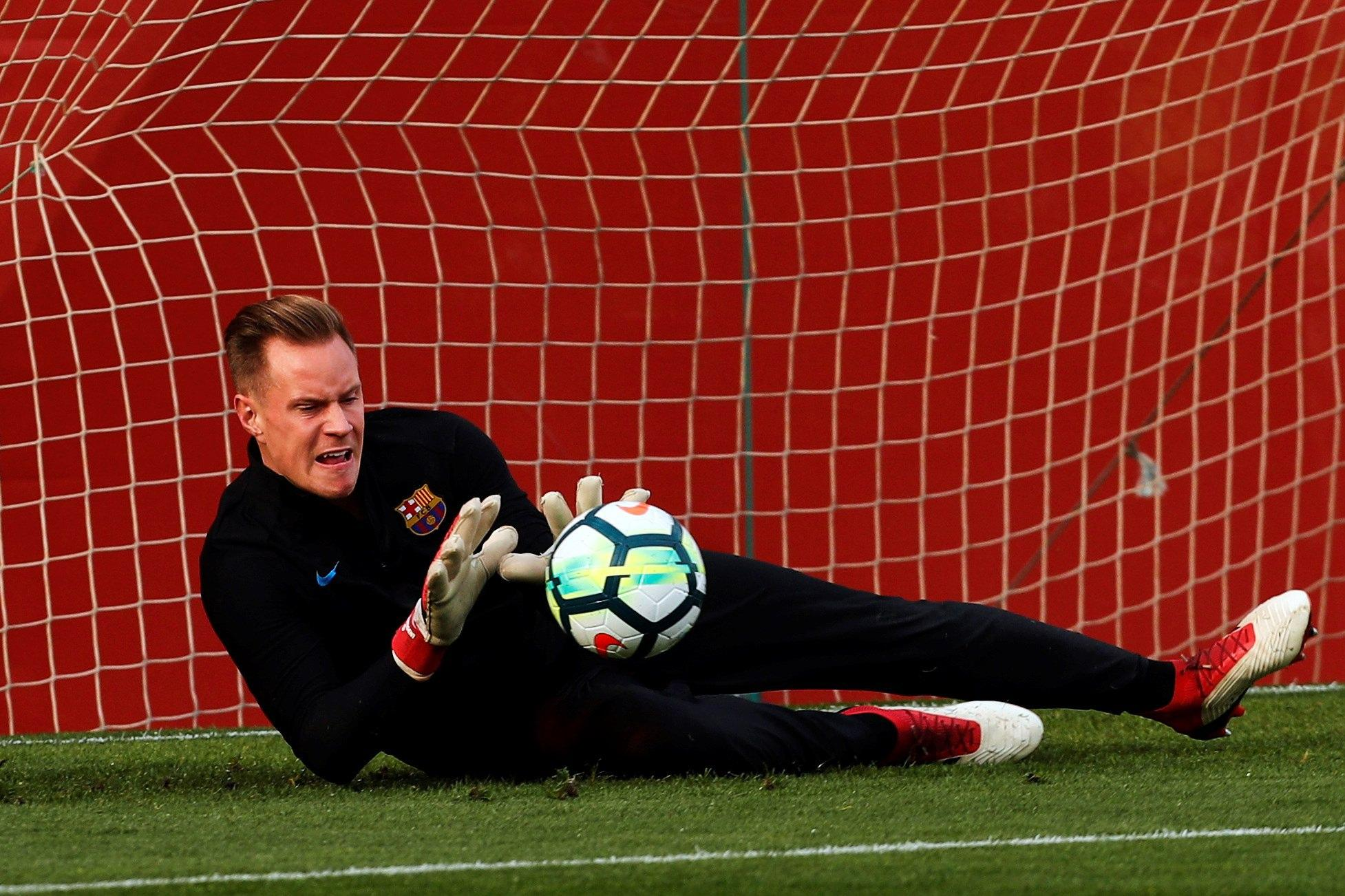 Barca's No 1 is the favourite to take Neuer's place between the sticks