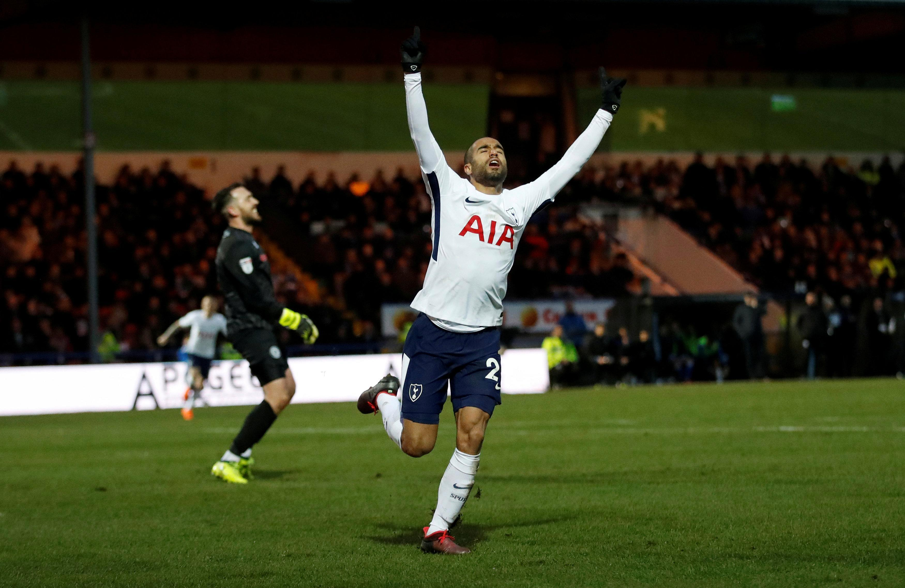 His first Spurs goal