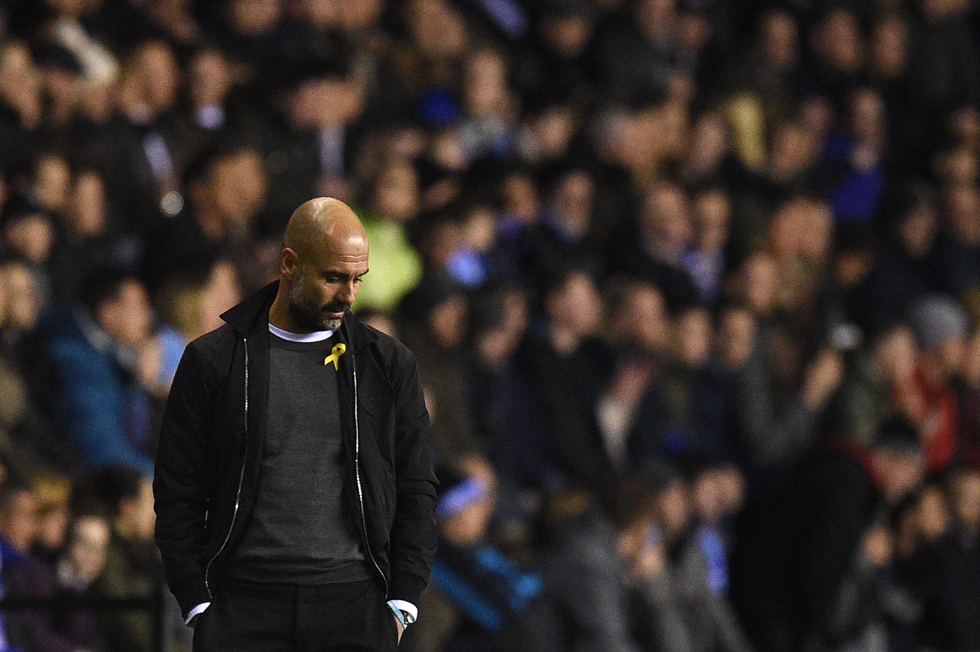 A rare bad night for Pep