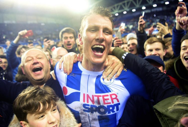 An amazing moment for Wigan