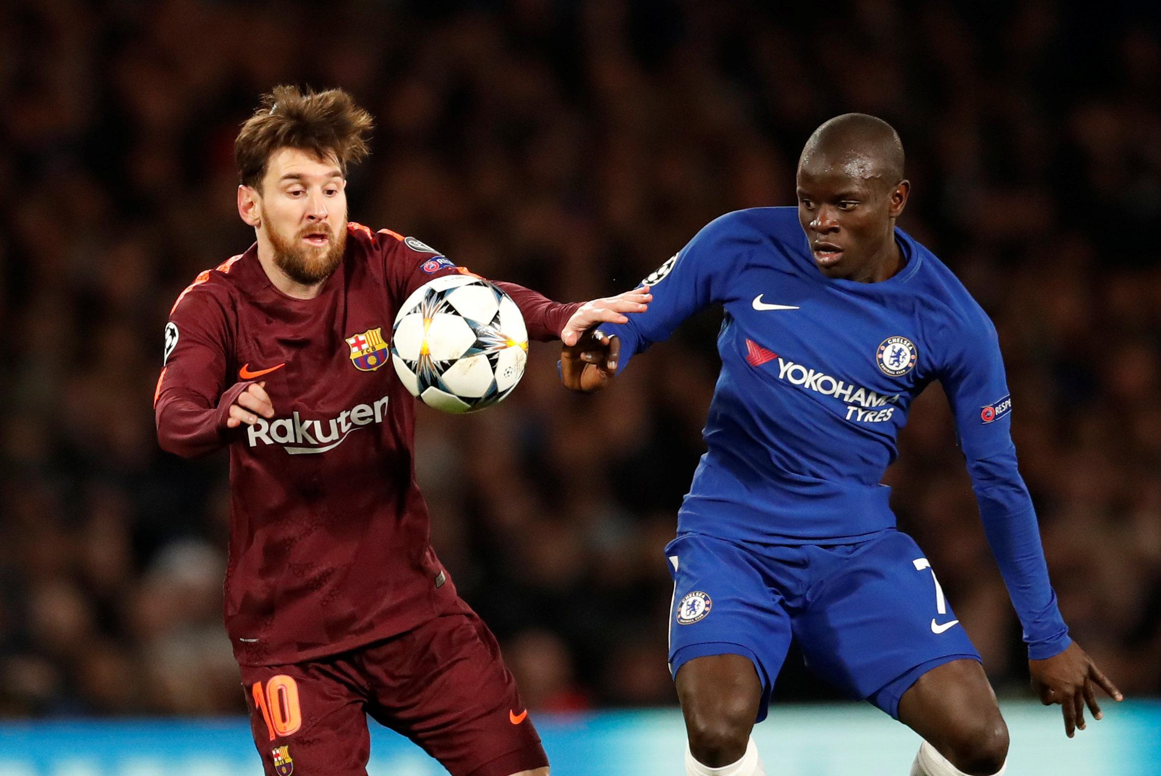 Kante battled brilliantly against Messi