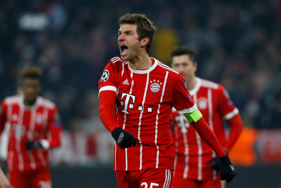 why i m falling in love with thomas muller s goal celebrations