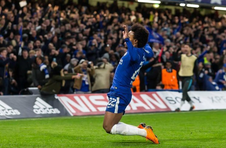 Drink it in Willian
