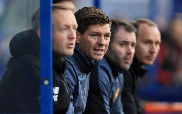 Future England manager Steven Gerrard