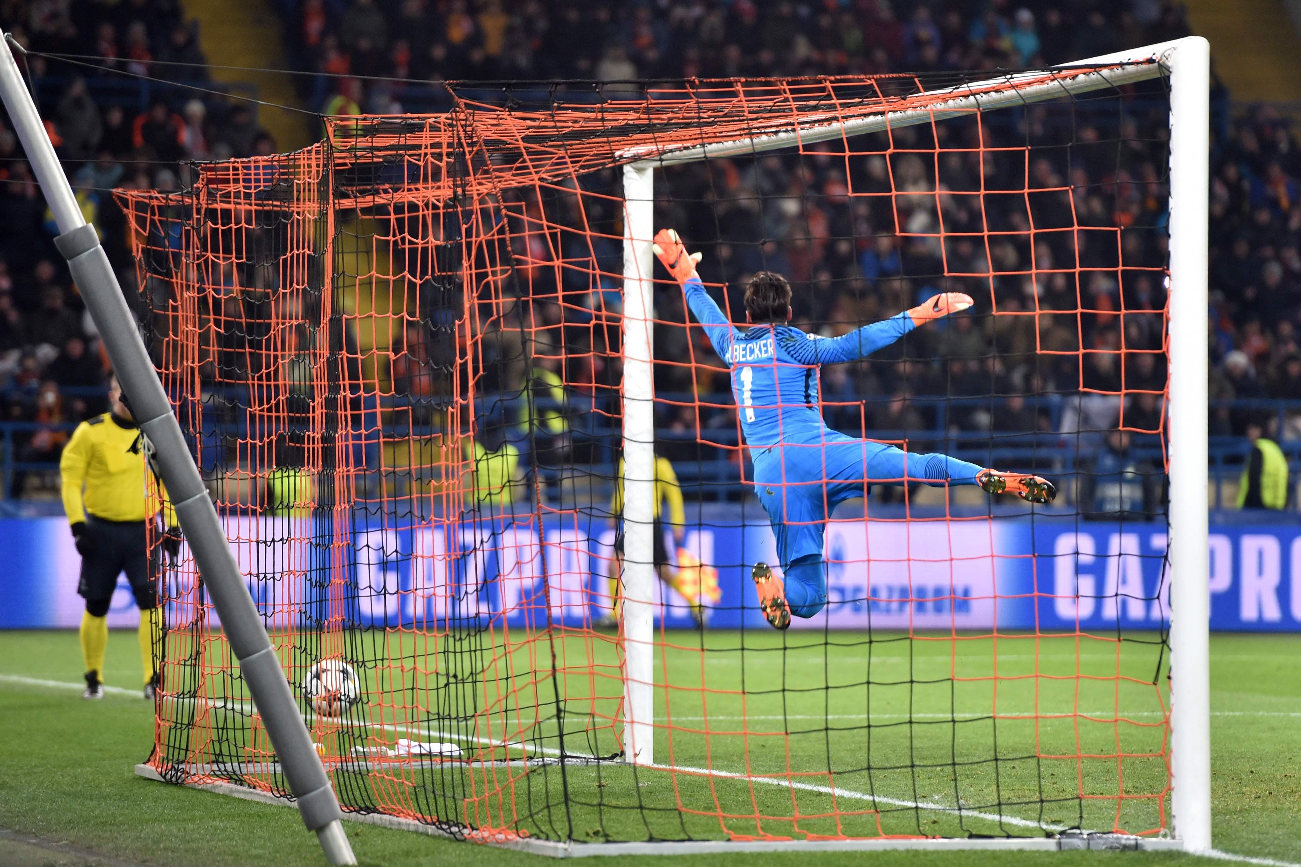 Alisson takes some beating
