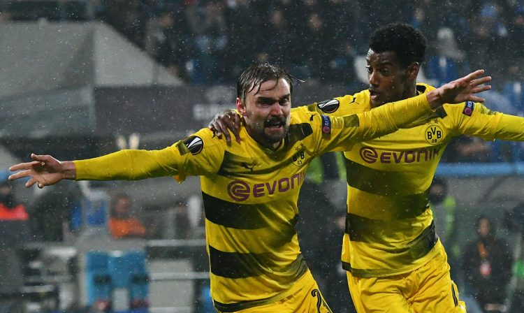 That used to be Hummels celebrating on Schmelzer's shoulder