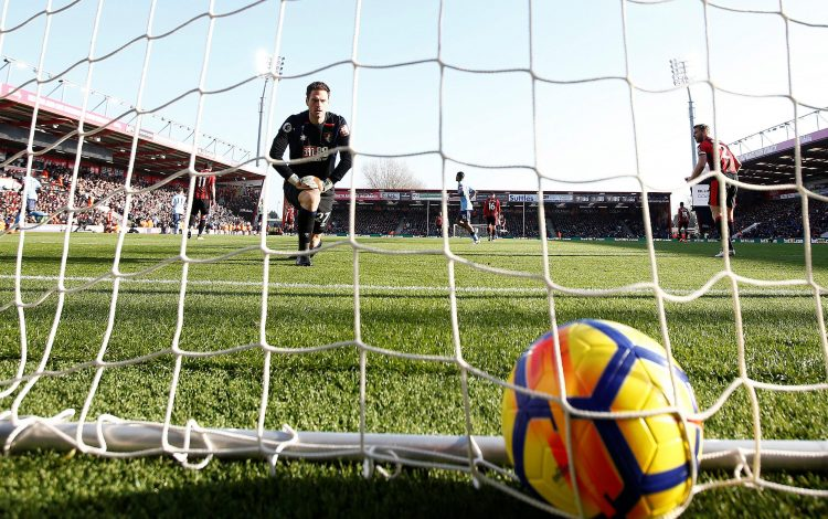 The worst part of a goalkeeper's job