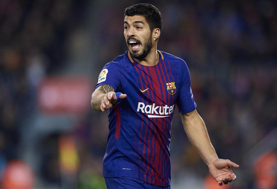 20 league goals for Suarez now this season