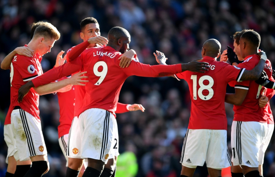 United's forwards displayed great teamwork for the equaliser