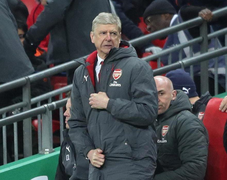 Arsene Wengers side were humiliated by Man City in the Carabao Cup final