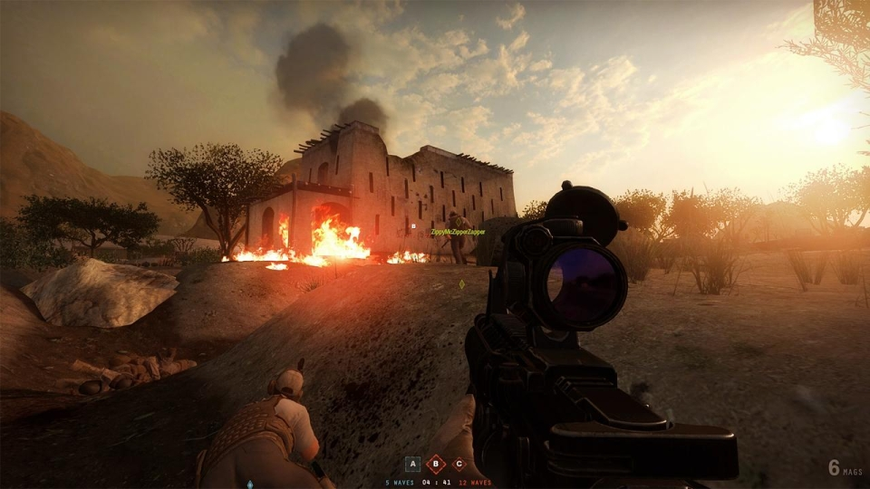 The move to Unreal 4 allows for far more impressive visuals – and will likely help Sandstorm garner widespread appeal