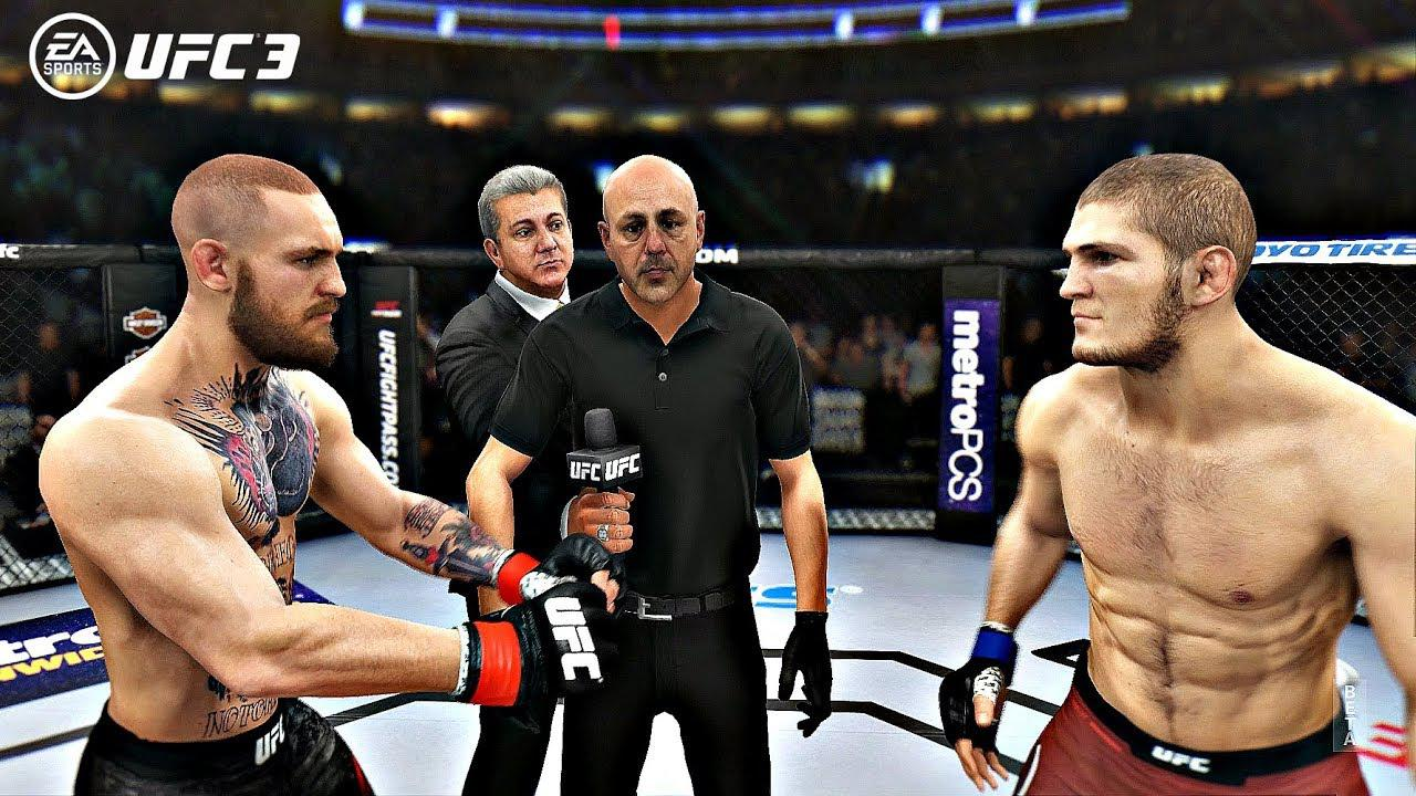 Visually UFC 3 is laps and bounds more impressive than FIFA 18