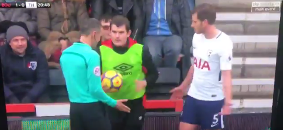Vertonghen is calm at this stage