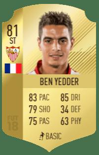 Yedder's base card