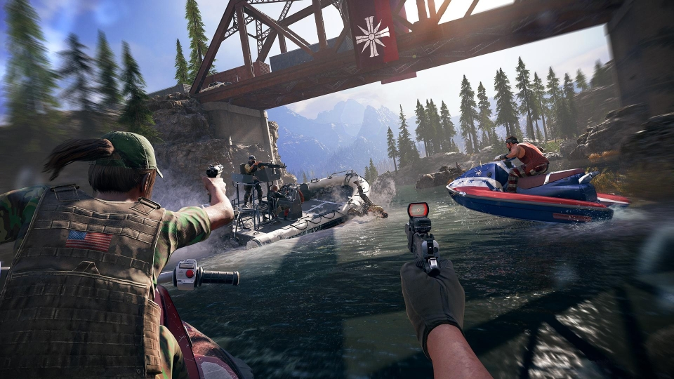 Cars, boats, planes – Far Cry 5 has them all