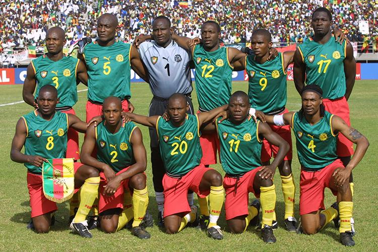 Cameroon once stuck a middle finger up to FIFA by wearing back-to ...