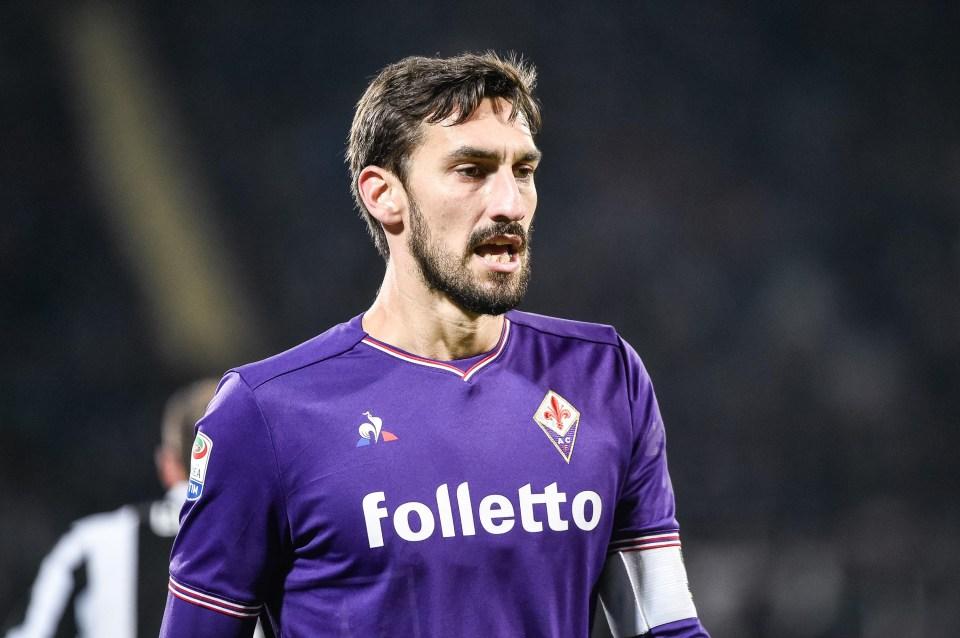Astori playing against Juventus last month