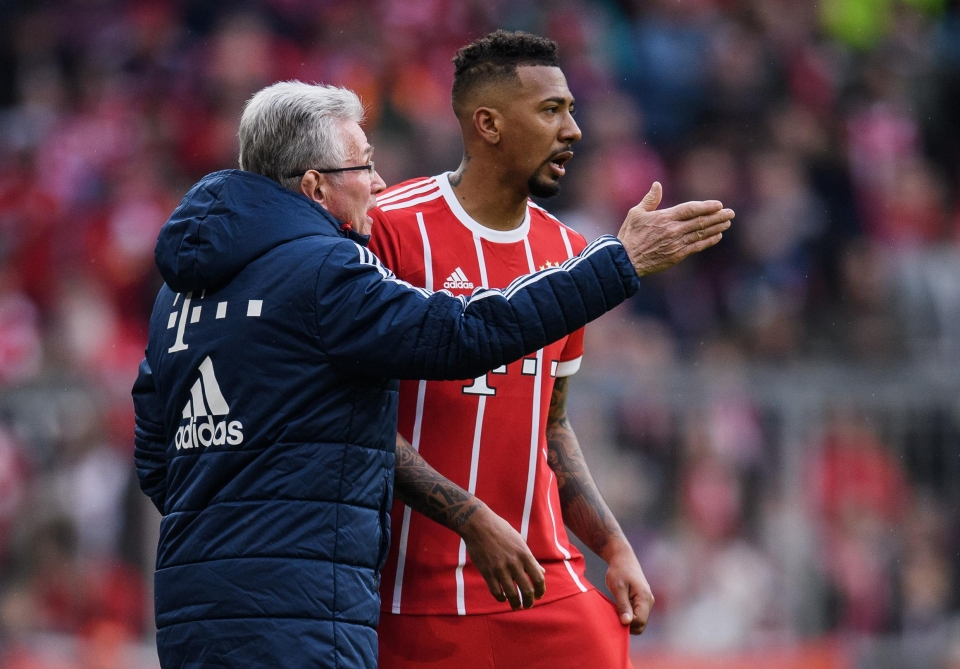 The heart of Bayern's defence alongside Mats Hummels