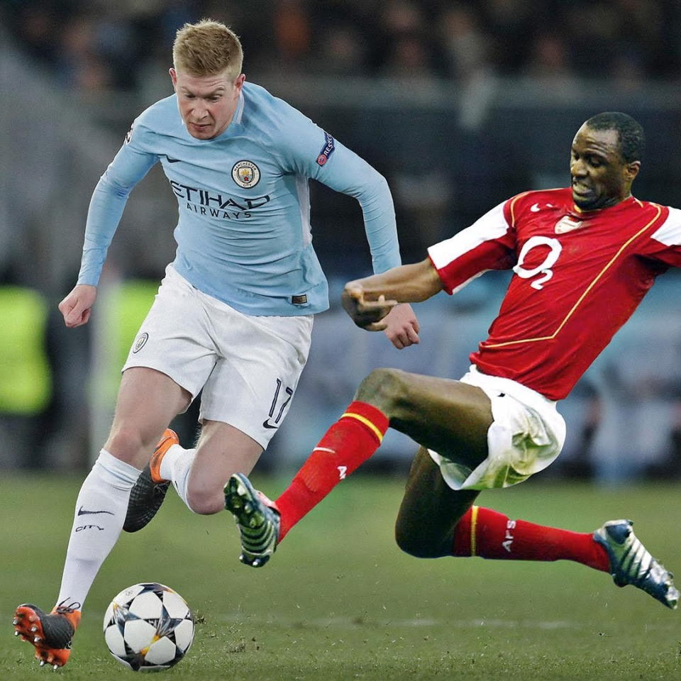 Big Patrick takes a yellow for a reducer on KDB early on