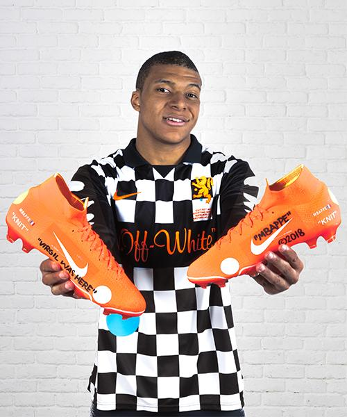 We'll take two pairs and as shirt please, Kylian