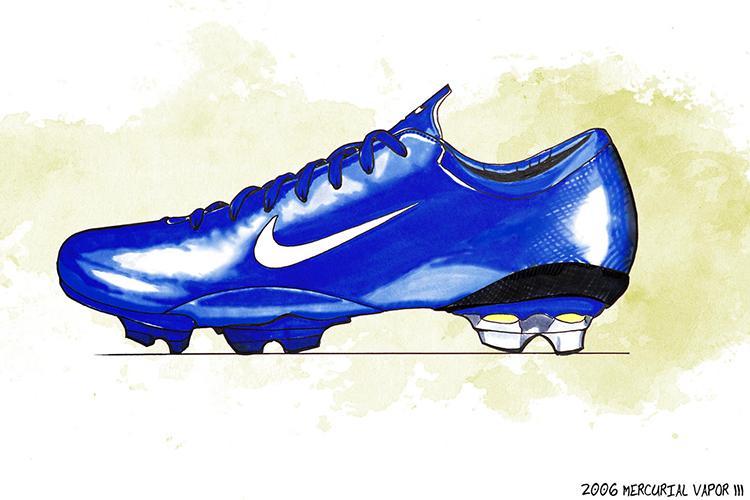 ronaldo blue boots