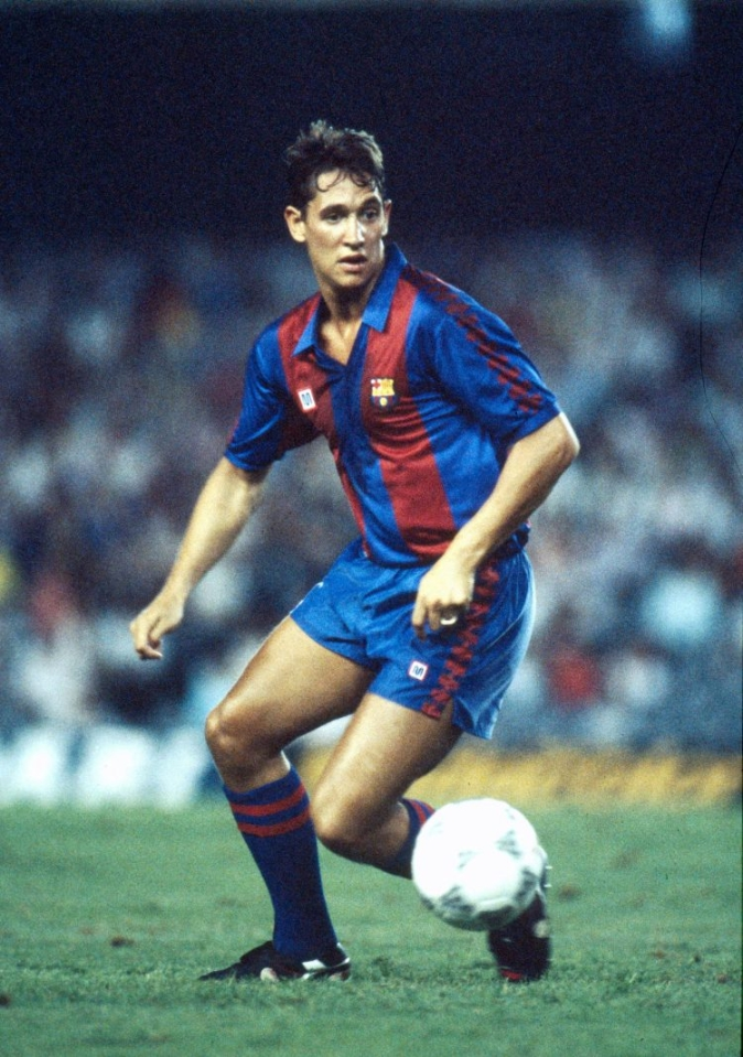 Surely one of the few players to play for Barcelona called Gary